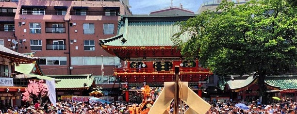 Kanda Myojin Shrine is one of 御朱印頂いた寺社.