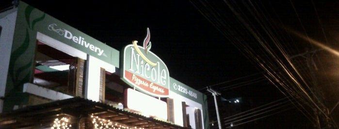 Nicole Pizzaria Express is one of Points de Maceió - Restaurantes.
