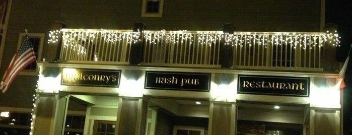 Mulconry's Irish Pub and Restaurant is one of Lugares favoritos de Rishi.