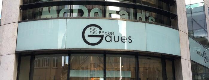 Bäcker Gaues is one of Hamburg.