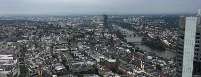 Main Tower Aussichtsplattform is one of Frankfurt.