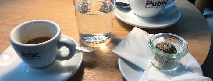 Public Coffee Roasters is one of Hamburg.