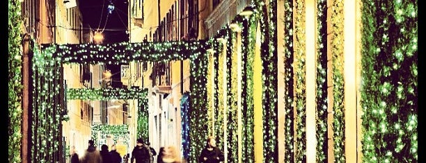 Via Della Spiga is one of Milano City Guide.