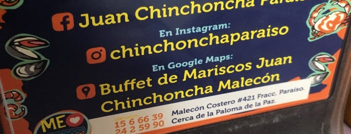 Restaurant de Mariscos 'Juan Chinchoncha' is one of Locais salvos de Teje.