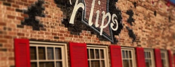Flips Patio Grill is one of Lugares guardados de Kat.