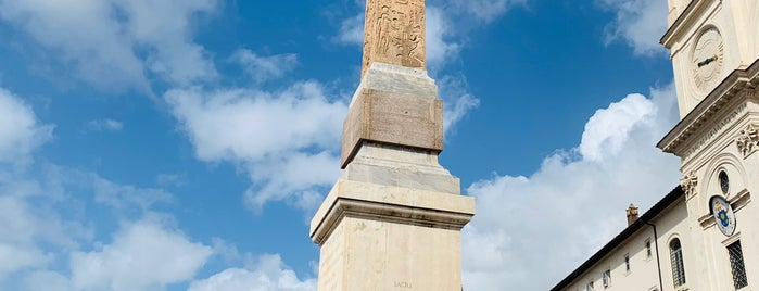 Obelisco Sallustiano is one of ROME - ITALY.