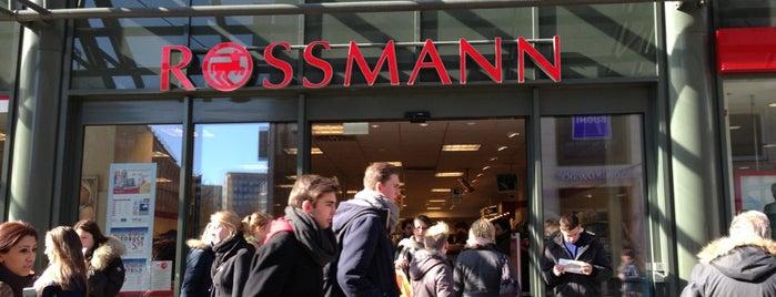 Rossmann is one of Fleur's Hamburger.