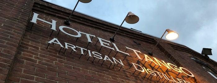 Hotel Tango Artisan Distillery is one of Brandon 님이 좋아한 장소.