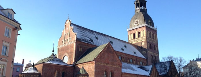 Rīgas Doms | Riga Cathedral is one of Baltic Road Trip.