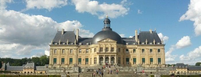 Château de Vaux-le-Vicomte is one of Châteaux de France.