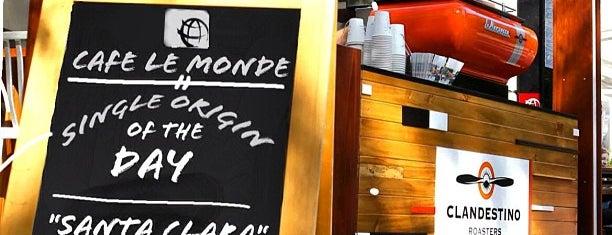Cafe Le Monde is one of สถานที่ที่บันทึกไว้ของ Andreas.