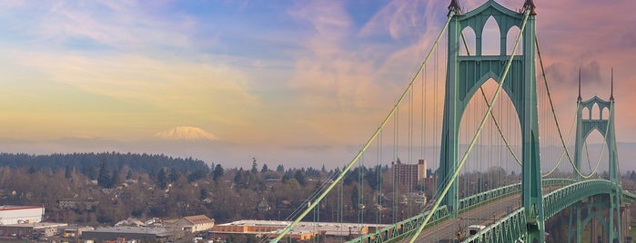 St. Johns Bridge is one of Lufthansa Magazin.