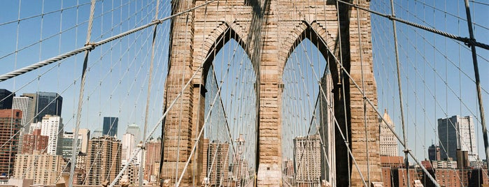 Ponte do Brooklyn is one of Arthur's places to visit.