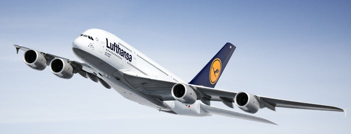 The Lufthansa A380 flights