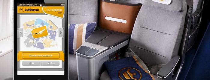 Lufthansa Flight LH 121 is one of Havalimanı..