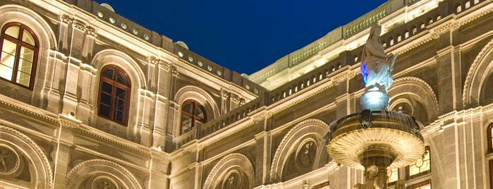 Vienna State Opera is one of Vienna #inspiredby Lufthansa.