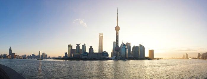 上海浦東国際空港 (PVG) is one of Lugares.