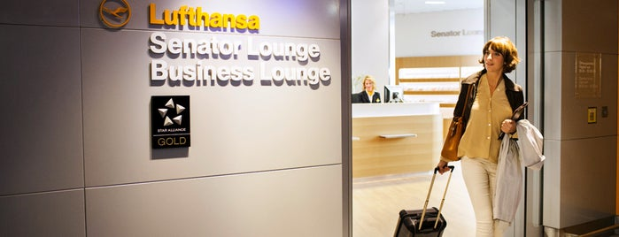 Lufthansa Business Lounge is one of World.