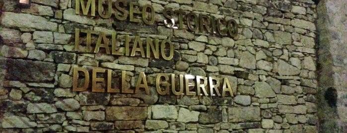 Museo Storico Italiano della Guerra is one of Castelli Italiani.
