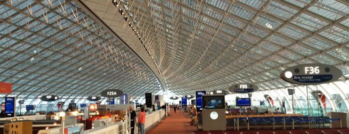 Bandar Udara Paris-Charles de Gaulle (CDG) is one of Tempat yang Disimpan Volkan.
