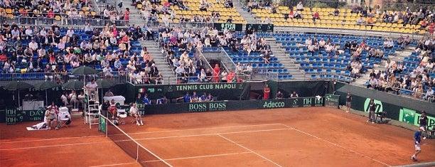 Tennis Club Napoli is one of Lugares favoritos de Francesco.