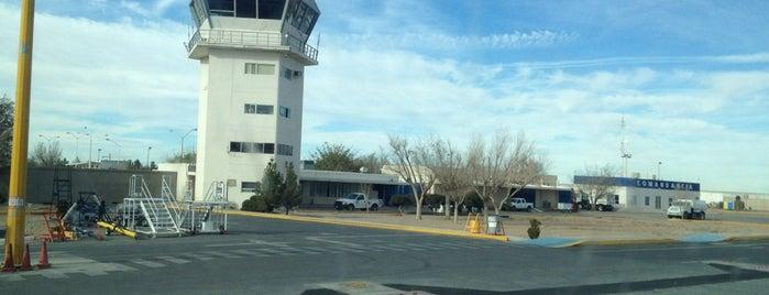 """Aeropuerto Internacional """"Abraham González"""" (CJS) is one of Locais curtidos por ElPsicoanalista."""