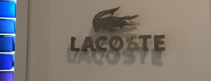 Lacoste is one of Locais curtidos por Shank.