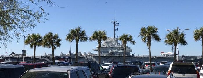 USS Yorktown State Park is one of สถานที่ที่บันทึกไว้ของ Mario.