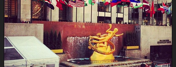 Rockefeller Center is one of All-time favorites in United States (Part 2).