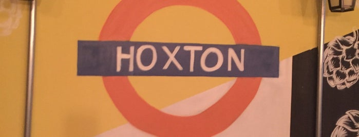 Hoxton Bar is one of Posti salvati di Vanessa.