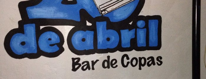 bar 20 de abril is one of Lugares favoritos de Beatriz.