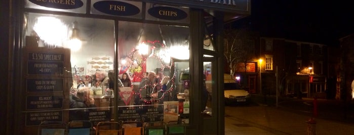 Grosvenor Fish Bar is one of สถานที่ที่ Lewis ถูกใจ.