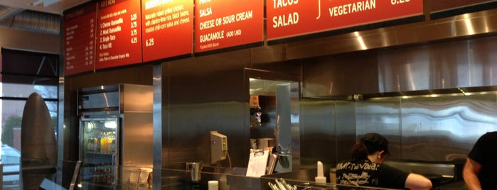 Chipotle Mexican Grill is one of Favorite's.