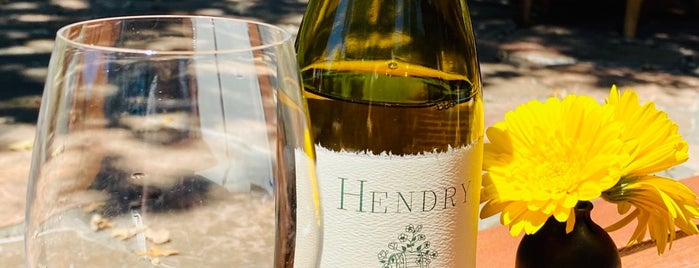 Hendry Winery is one of Napa Valley.