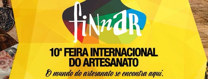 Finnar - Feira Internacional do Artesanato is one of Locais curtidos por Maria Luiza.