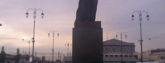 Памятник В. И. Ленину is one of Future sites.
