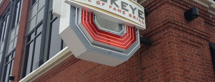 Buckeye Hall of Fame Grill is one of Nightlife in Columbus.