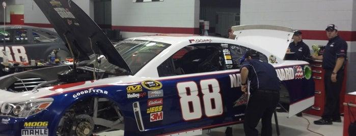 Hendrick Motorsports 48/88 Race Shop is one of My NASCAR.