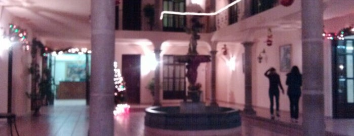 Hotel Hacienda De Los Angeles is one of Orte, die Alan gefallen.