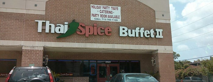 Thai Spice Buffet is one of Hou.