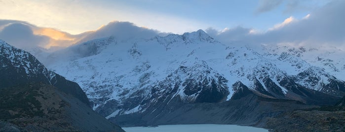 Mount Cook National Park is one of Posti salvati di Matt.