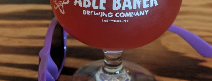 Able Baker Brewing is one of Tempat yang Disimpan Whit.