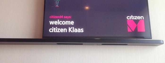 citizenM London Shoreditch is one of Locais curtidos por Klaas.