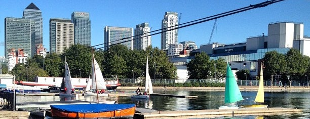 Docklands Sailing & Watersport Centre is one of London4.
