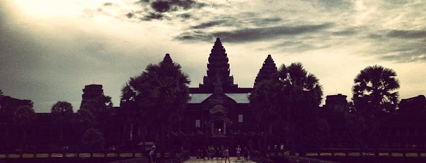 West Gate of Angkor Wat is one of Cambodia.
