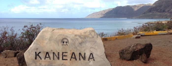 Kaneana Cave is one of Oahu.