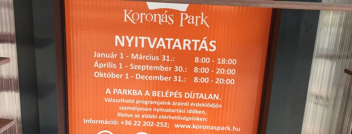 Koronás Park is one of Our Country Life 2017.