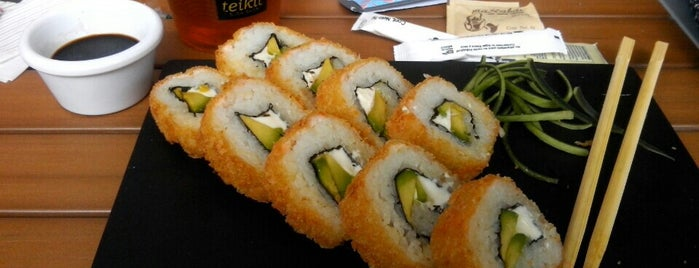Teikit Sushi Shop is one of Locais curtidos por Priscilla.