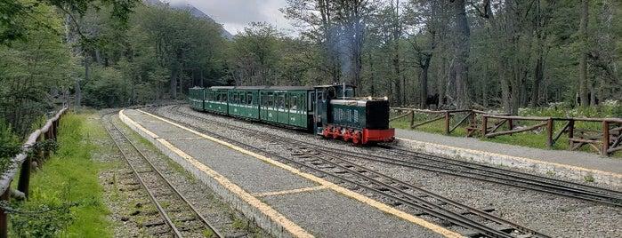 Estación Parque Nacional [Tren del Fin del Mundo] is one of Patagônia.