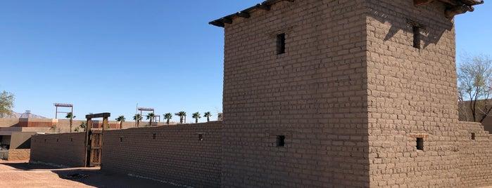 Old Las Vegas Mormon Fort is one of Lieux sauvegardés par Kimburr.